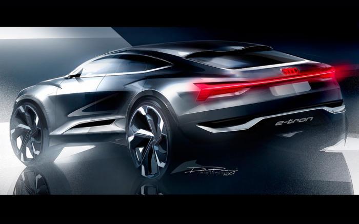 sal n de shangh i 2017 audi e tron sportback concept autom vil online. Black Bedroom Furniture Sets. Home Design Ideas