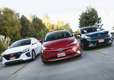 Hyundai Ioniq vs Kia Niro vs Toyota Prius
