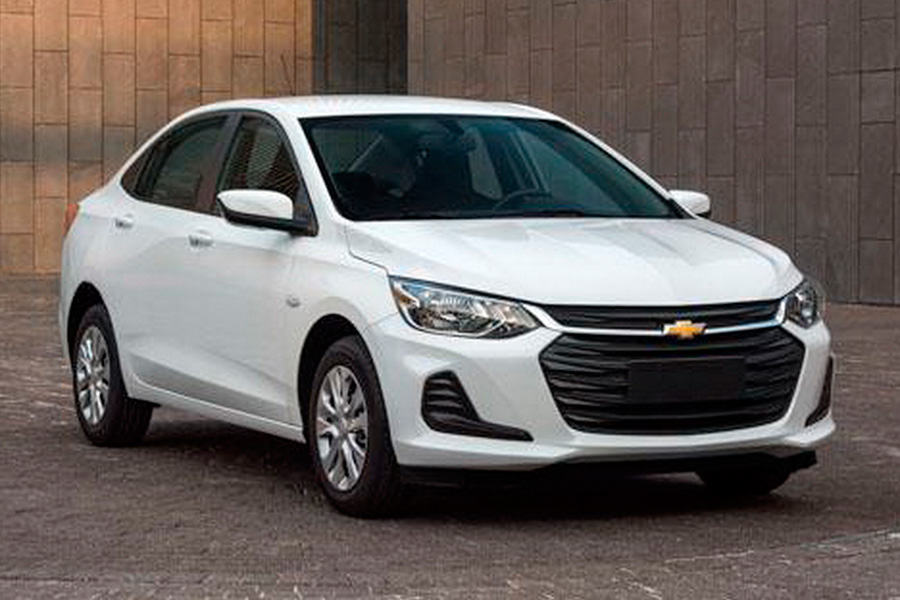 Chevrolet onix 2020 precio