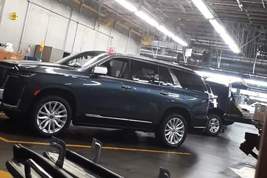 La Cadillac Escalade 2021, filtrada - Automóvil Online