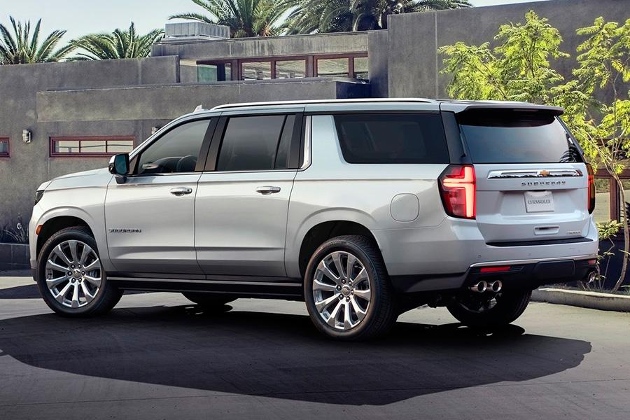 Chevrolet Suburban y Tahoe 2021, aún más grandes ...