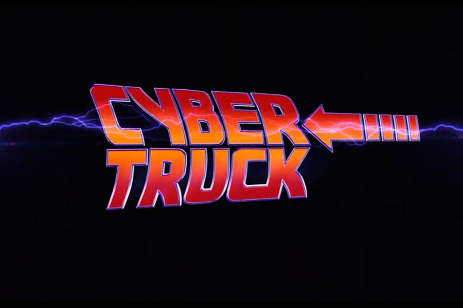 Tesla Cybertruck Volver al Futuro
