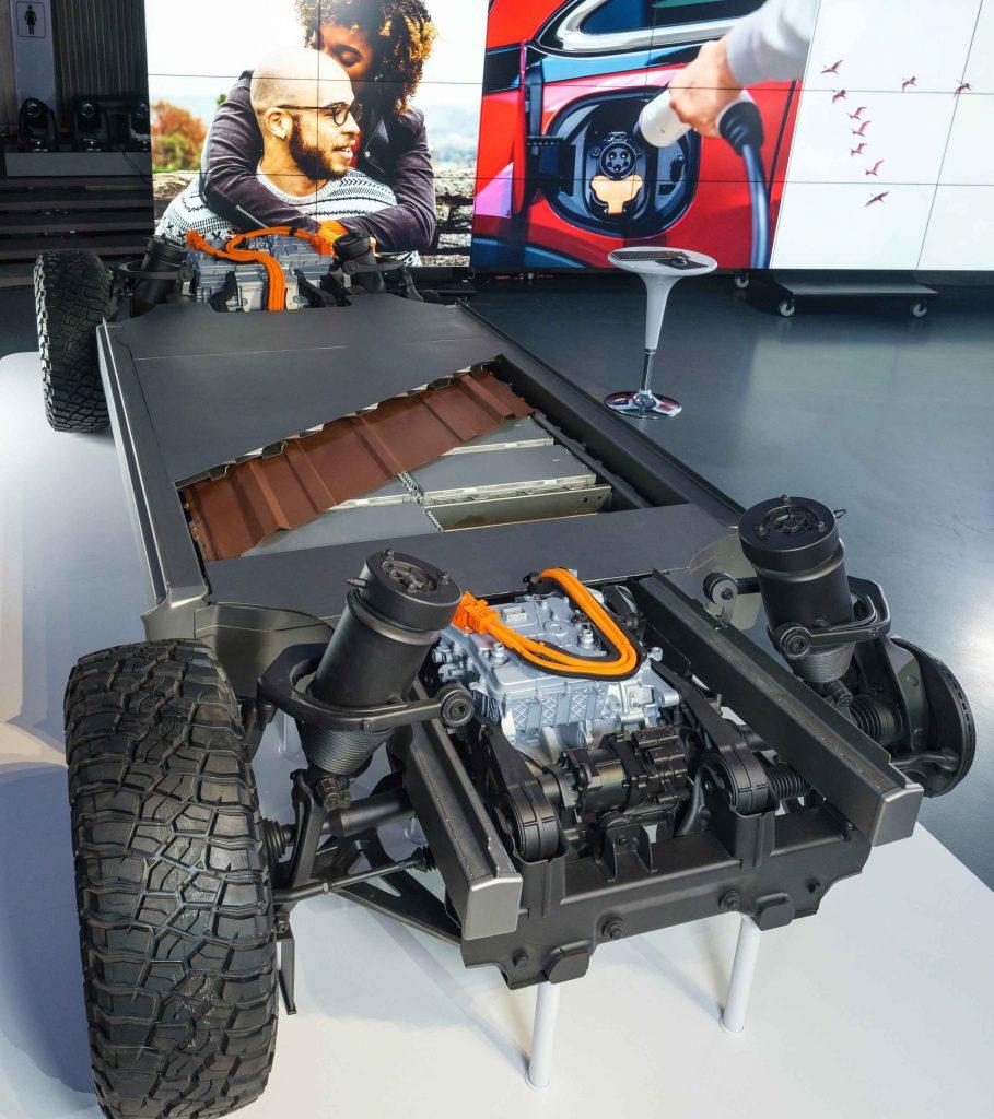 Plataforma para baterías Ultium de GM
