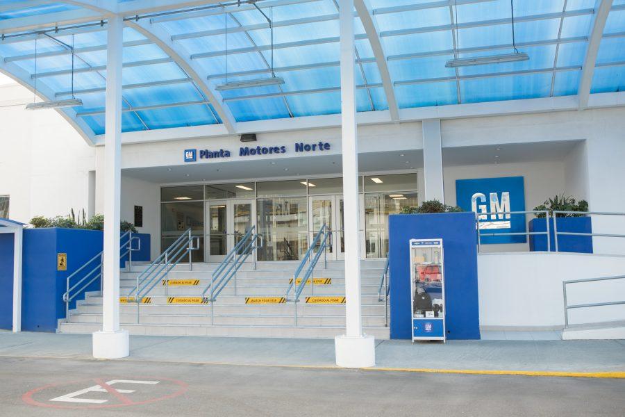 Planta de motores GM en Toluca